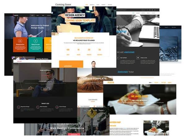 SiteMush Themes